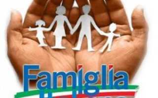 Итальянские семьи в иммиграции