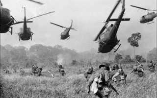 Политическая ситуация в США во времена вьетнамской войны