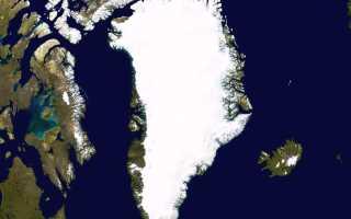История картографирования Гренландии