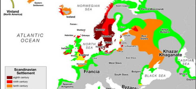 Выходцы из скандинавских стран в США
