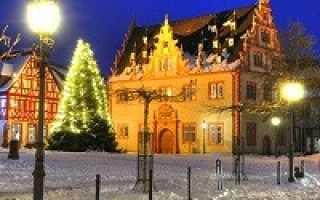 Германия в декабре: погода, праздники и туры