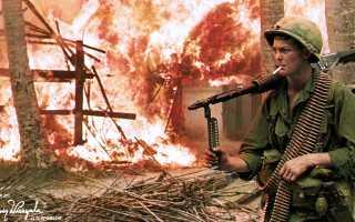 Сопротивление американского общества вьетнамской войне