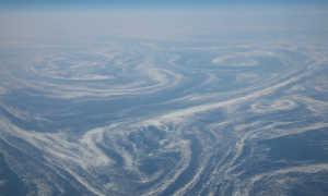 Морские течения возле Гренландии