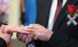Однополые браки в США: в каких штатах разрешены