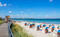 Пляжи Германии: популярные места